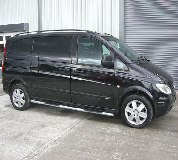 Mercedes Viano Hire in South London